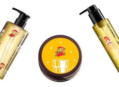 OBJET DU DéSIR : les shampoings Shu Uemura x Mario Bros