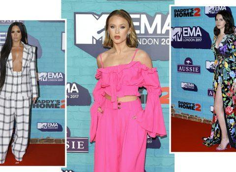 MTV EMA 2017 : Les plus beaux looks du tapis rouge