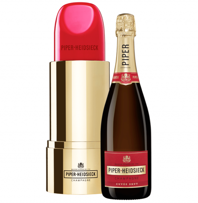 Must-have : Le champagne lipstick de Piper-Heidsieck - 1