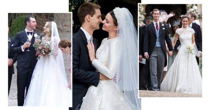 Quelles sont les célébrités qui se sont mariées en 2017 ?