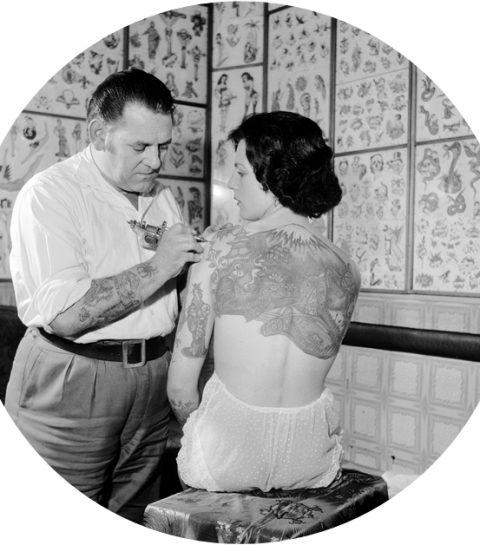 tatouage ADN
