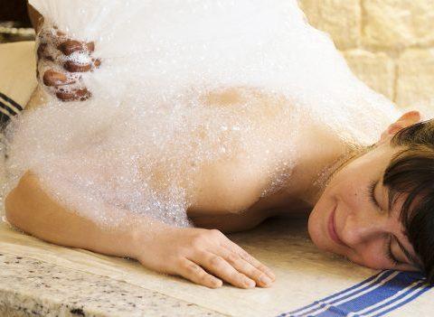 On a testé : la cérémonie du bain turc au spa Deep Nature