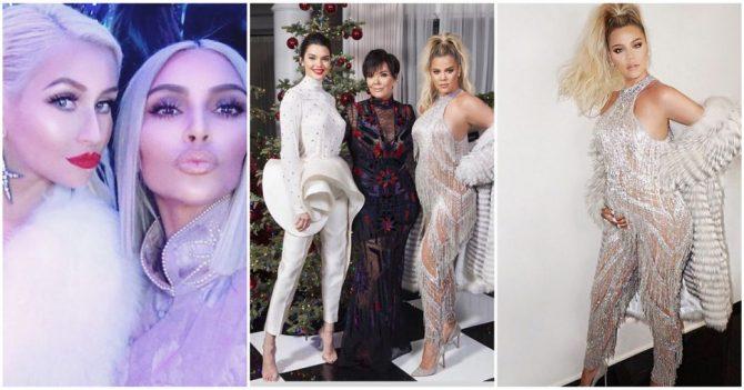 La fête de Noël de Kris Jenner