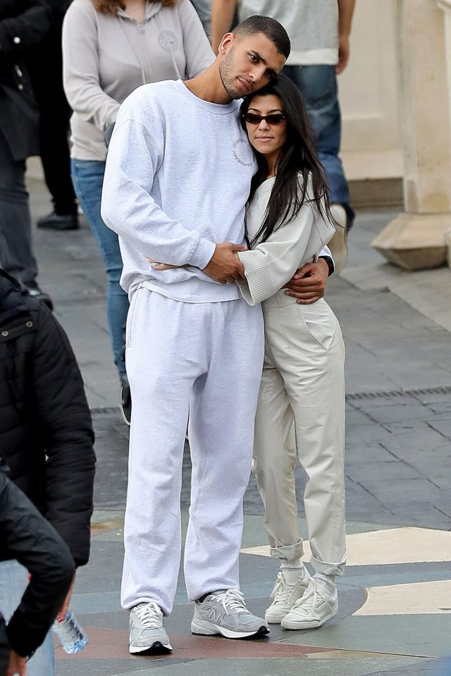 Depuis janvier, Kourtney Kardashian file le parfait amour avec Younes Bendjima.