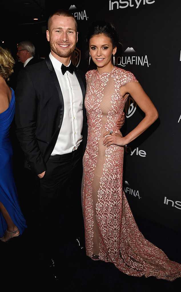 Nina Dobrev (Vampire Diaries) et l'acteur Texan Glen Powell seraient en couple bien qu'il y ait des rumeurs comme quoi ceux-ci seraient en pause.