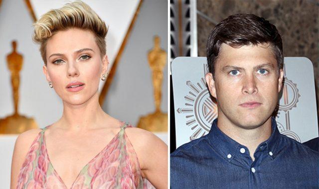 Scarlett Johanson et la star du Saturday Night Live, Colin Jost, ont annoncé leur idylle à la fin du mois dernier.
