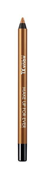 Aqua XL Eye Pencil teinte Bronze Métallique , MAKE UP FOR EVER, 21,90€ en exclusivité chez PlanetParfum.