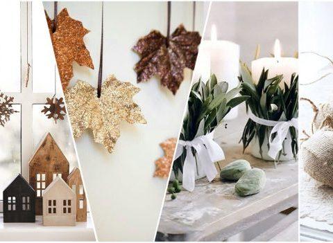20 idées de décos de Noël élégantes en matériaux naturels