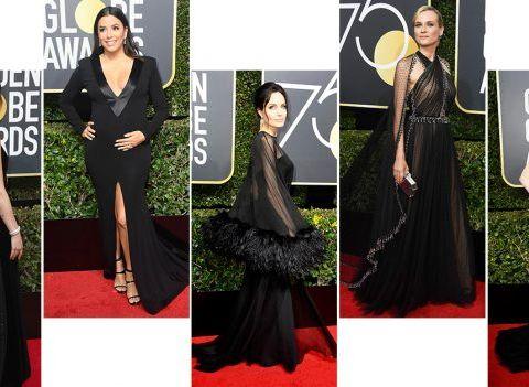 Golden Globes 2018: les plus belles robes