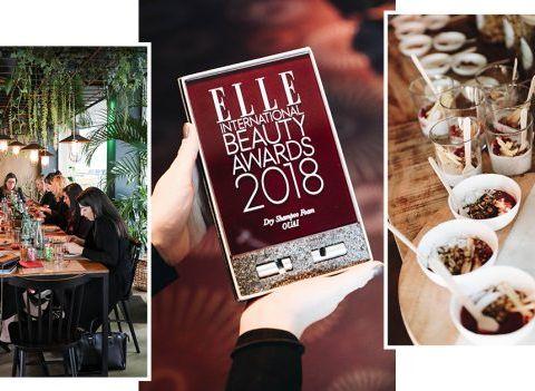 18 produits qui ont séduit aux ELLE INTERNATIONAL BEAUTY AWARDS 2018