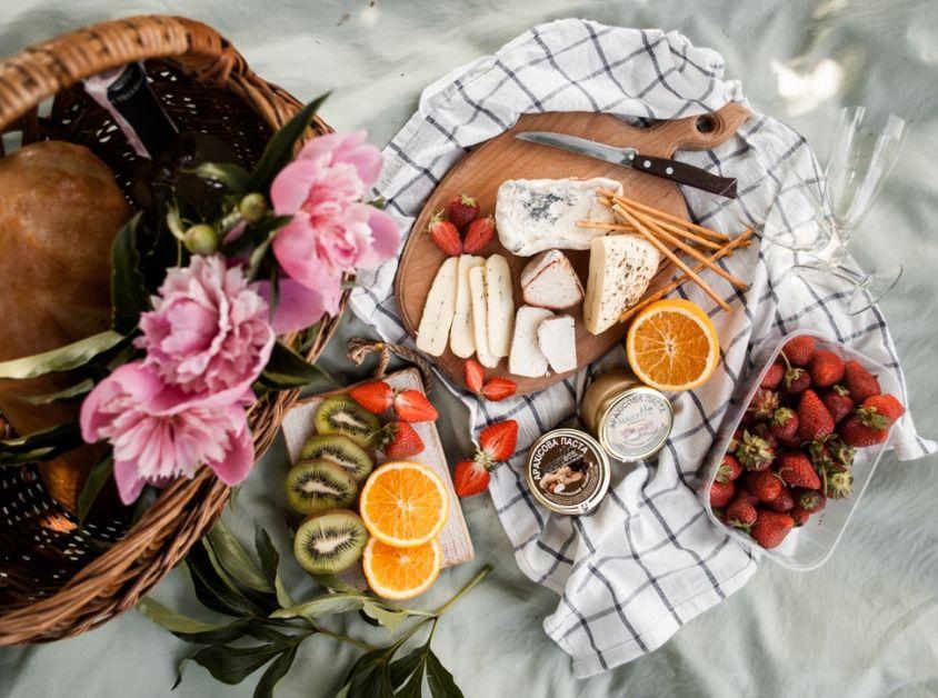 saint-valentin surprises pique-nique