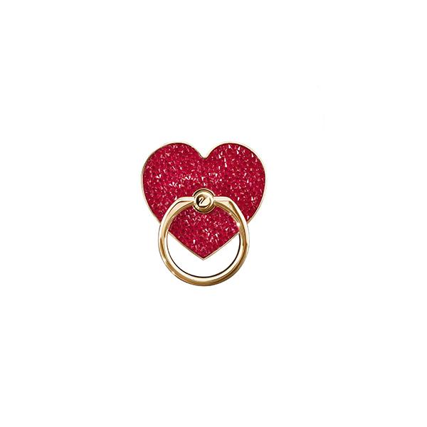 saint-valentin anneau coeur pour smartphone