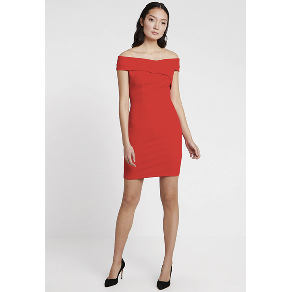robe rouge guess