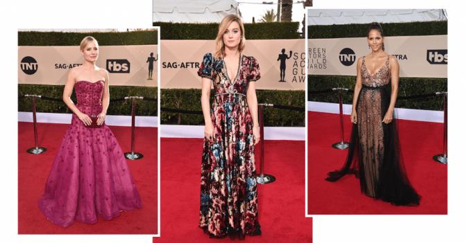 SAG Awards 2018 : les plus belles robes de la cérémonie