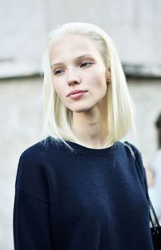 Coiffures tendances : Blonde platine 2 – Pinterest