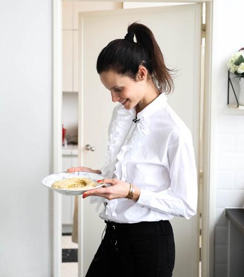 La recette du humus et panais de Charlotte Collard