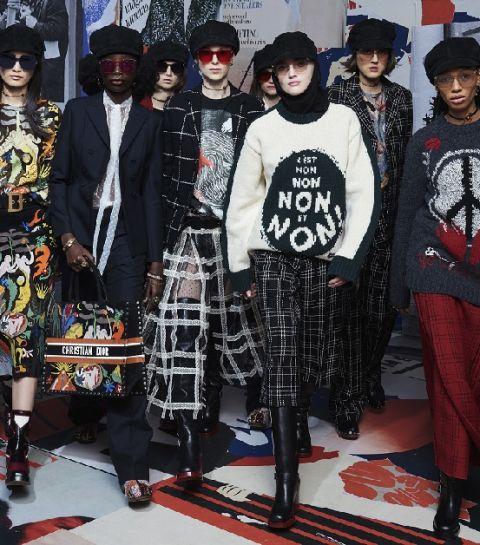 Dior, hippie pip, hourra