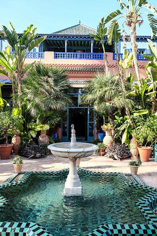 Les carnets de voyage de Céline : le Marrakech d'Yves Saint Laurent - 8