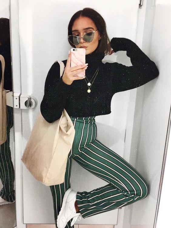Hoe draag je een trendy cropped trui? - 2