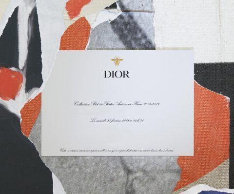 Suivez en direct de la fashion week le défilé Christian Dior automne-hiver 2018/19
