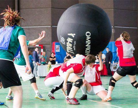 Le sport qui rend accro : le Kin-ball