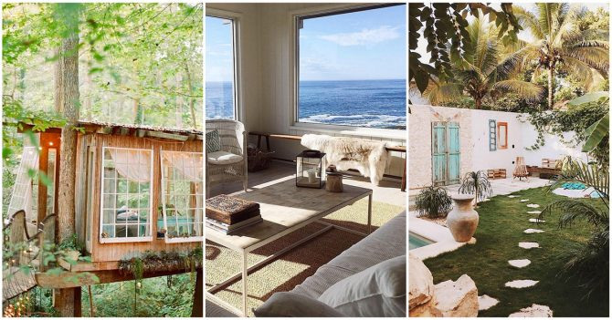 airbnb les 10 logements les plus lik s sur instagram. Black Bedroom Furniture Sets. Home Design Ideas