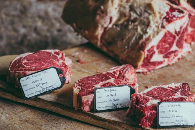 pièces de viande