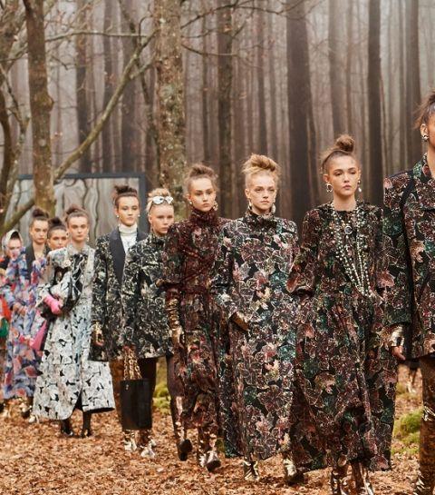 Chanel FW18 : promenons-nous dans les bois