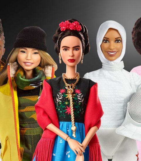 Mattel lance une collection de 17 Barbie inspirantes pour le 8 mars