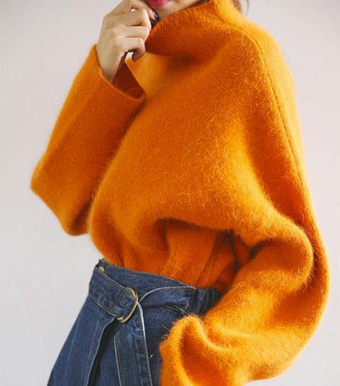 10 façons de porter le gros pull avec style