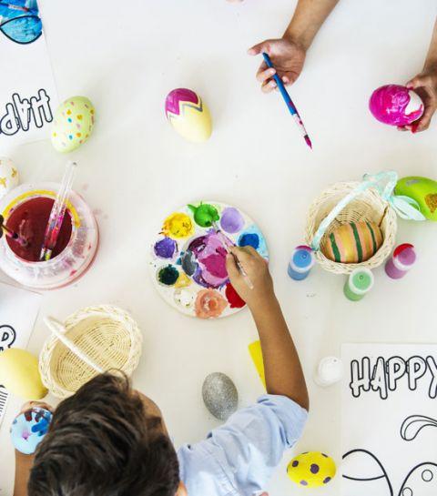 Que faire avec les enfants pendant les vacances de Pâques?