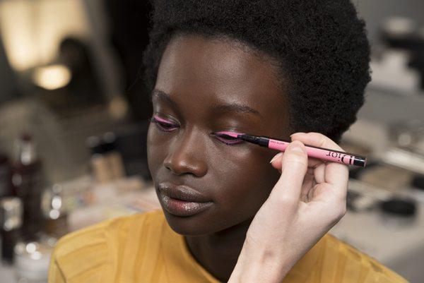 Dior crée le make-up tendance pour l'hiver prochain - 1