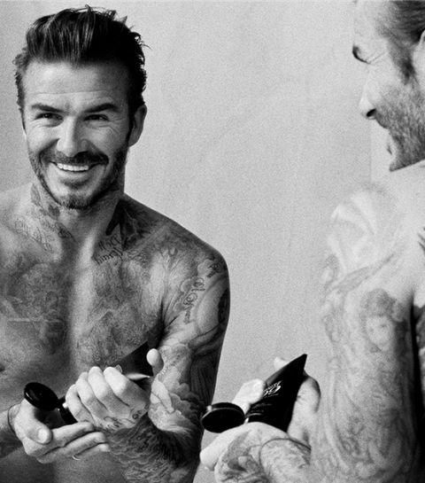 David Beckham lance sa propre ligne de soins cosmétiques