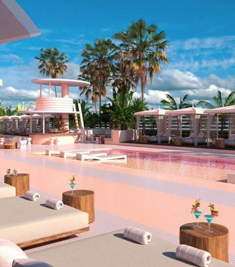 11 lieux totalement roses où passer des vacances romantiques