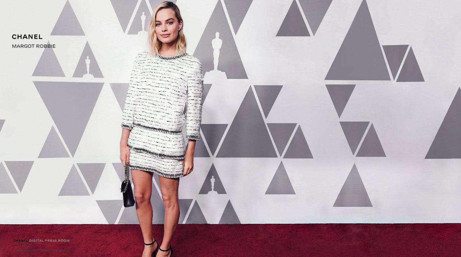 Margot Robbie rejoint la team Chanel - 1