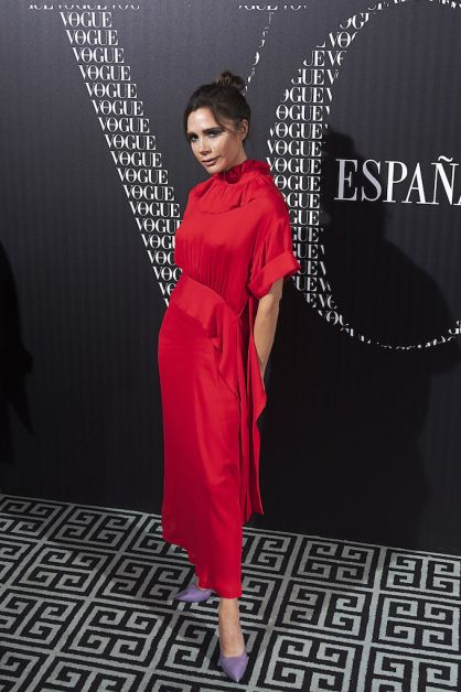 Vogue Hosts A Dinner For Victoria Beckham