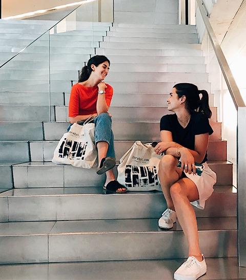 Les filles du vendredi : Laura et Paola Sole de ZORA BY L