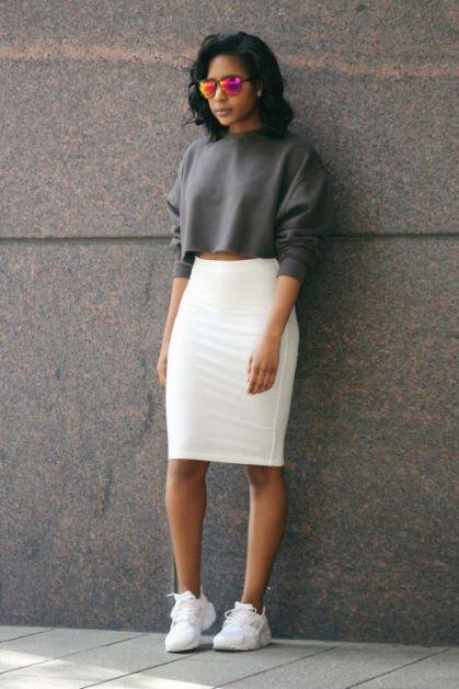 10 manières de porter la jupe crayon pour sublimer votre taille - 2