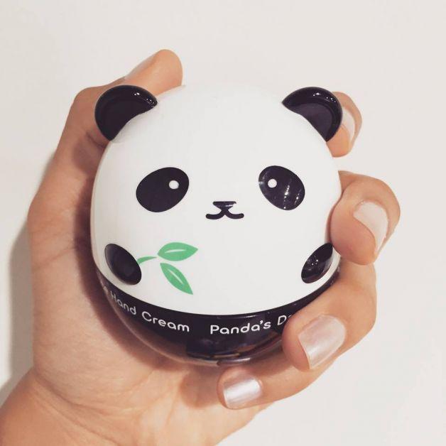 crème mains panda beauté cosmétiques coréens