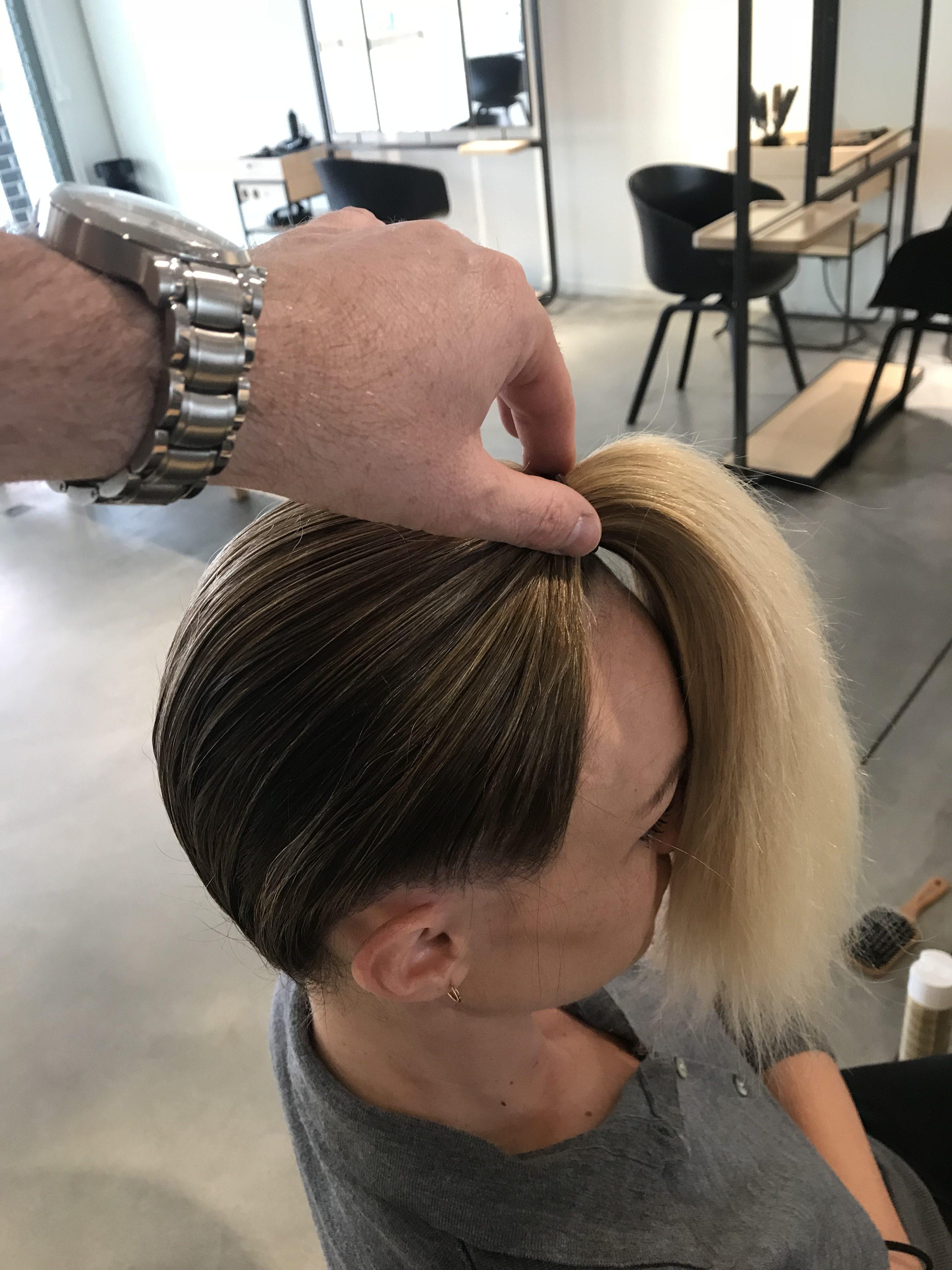 Notre tuto exclusif : la coiffure du défilé Mosaert - 5