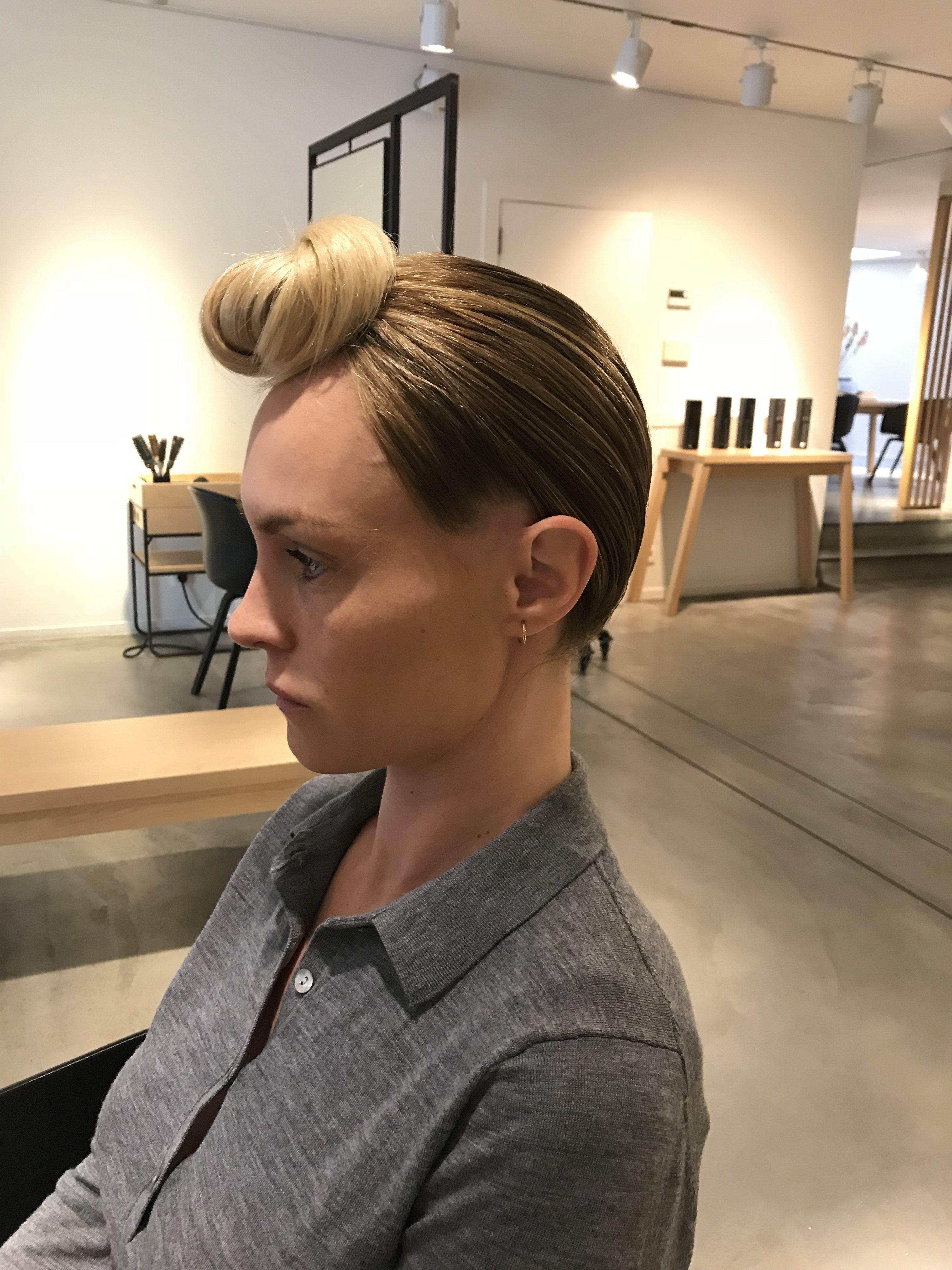 Notre tuto exclusif : la coiffure du défilé Mosaert - 8