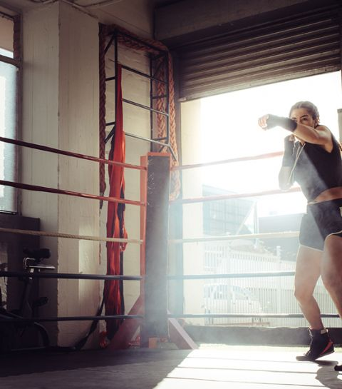 J'ai testé pour vous : un cours de boxe avec le champion belge Ryad Merhy