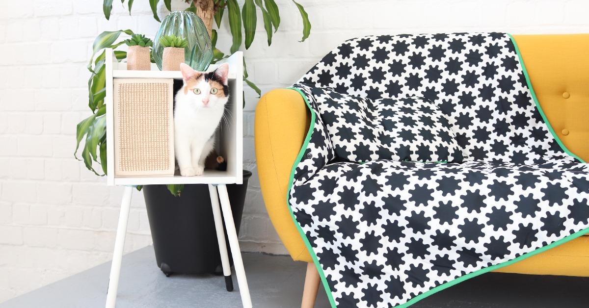 nos chats ont test la collection ikea pour les animaux de compagnie video. Black Bedroom Furniture Sets. Home Design Ideas