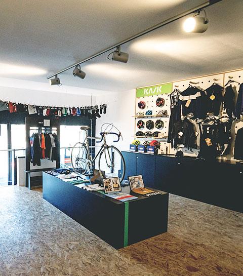 Le Mur: la pause café pour les amateurs de vélo (et tous les autres) à Huy