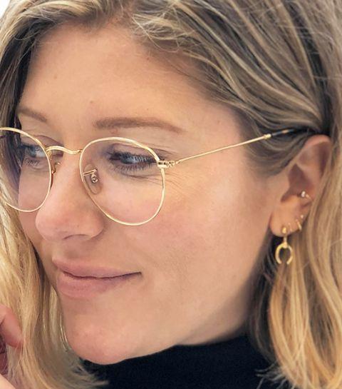 la moitié 795b6 ebed6 Tendance : les lunettes boyish - ELLE.be