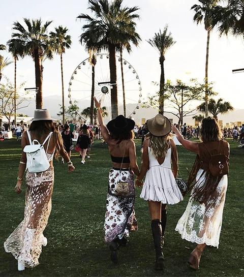 Coachella: 70 looks incroyables pour briller en festival