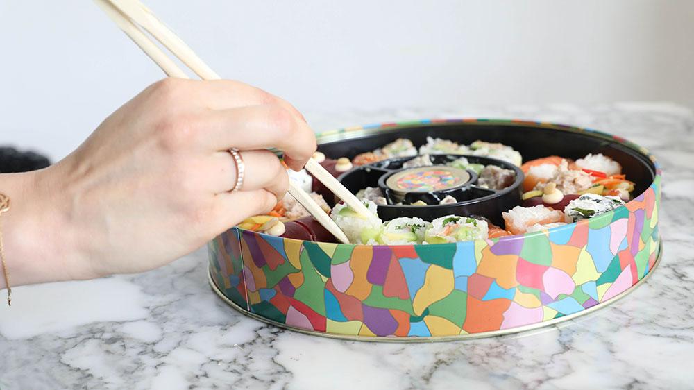 Ce soir, c'est caviar, sushis et champagne au menu - 1