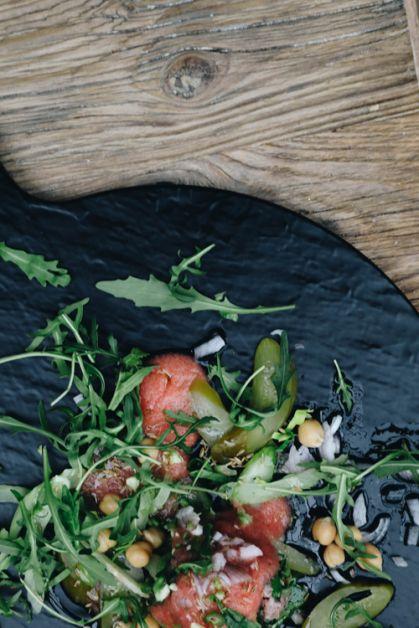 Le tartare de boeuf oriental de la chef Yaël du Comptoir Rodin - 2