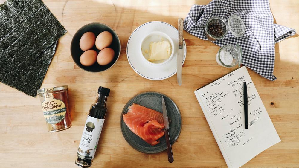 L'omelette sucrée salée aux algues d'Aline Gérard - 1