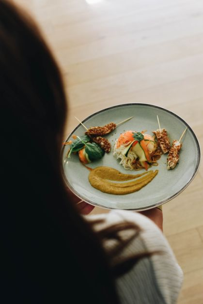 La recette de brochettes de poulet et sauce cacahuète de Pack'n Joy - 1